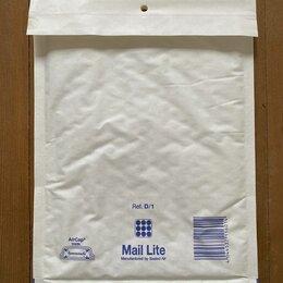 Упаковочные материалы - Крафт пакет с воздушной подушкой D/1 180*260 белый Mail Lite, 100 шт, 0