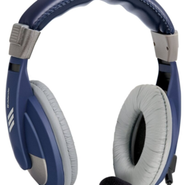 Аксессуары - Наушники Defender Gryphon HN-750 BLUE Регулят. громк., 2м кабель, 0
