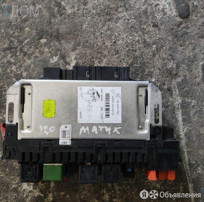 Блок комфорта sam  на MERCEDES W220 по цене 3500₽ - Двигатель и топливная система , фото 0