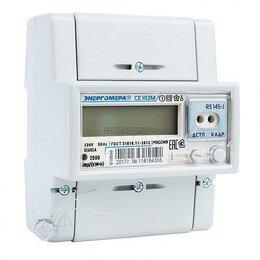 Счётчики электроэнергии - Счётчик Однофазный Многотарифный CE102M R5 145-A, 0