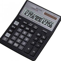 Калькуляторы - CITIZEN Калькулятор CITIZEN SDC-435N 16-разр., 0