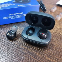 Наушники и Bluetooth-гарнитуры - Беспроводные наушники Borofone (шикарные, новые), 0