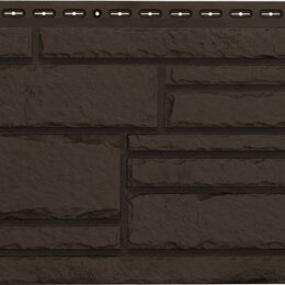 Фасадные панели - Фасадная панель Grand Line Камелот Стандарт Коричневый, 0