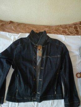 Куртки - Джинсовая куртка Burberry , 0