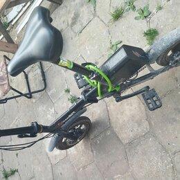 Мототехника и электровелосипеды - Электровелосипед складной, 0