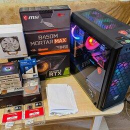 Настольные компьютеры - Пк. Новый. (R5 3600/RTX3060Ti/32GB/NVMe+SSD), 0