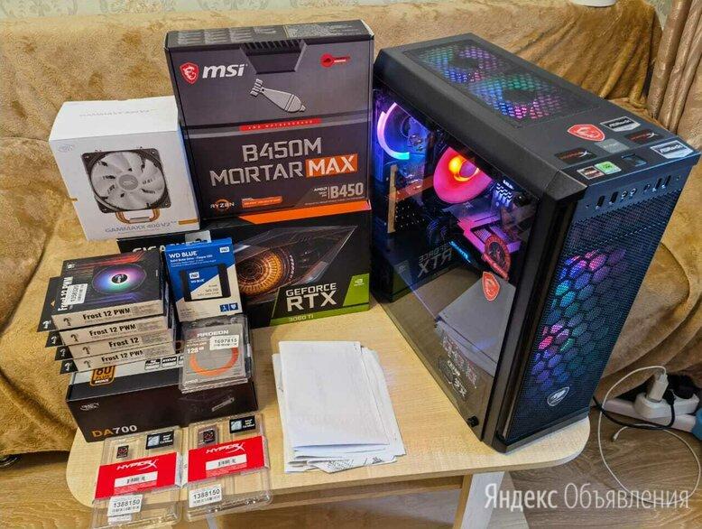 Пк. Новый. (R5 3600/RTX3060Ti/32GB/NVMe+SSD) по цене 180000₽ - Настольные компьютеры, фото 0