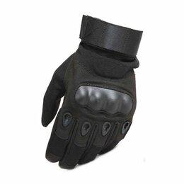 Мотоэкипировка - Перчатки тактические с защитой костяшек, 0