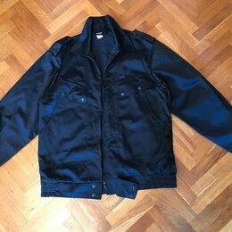 Одежда - Костюм для Охранника (брюки и куртка), черный (размер 52-54) + рубашка в подарок, 0