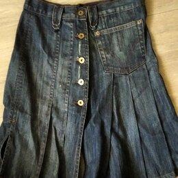 Юбки - Юбка джинсовая D&G  style 16502, 0
