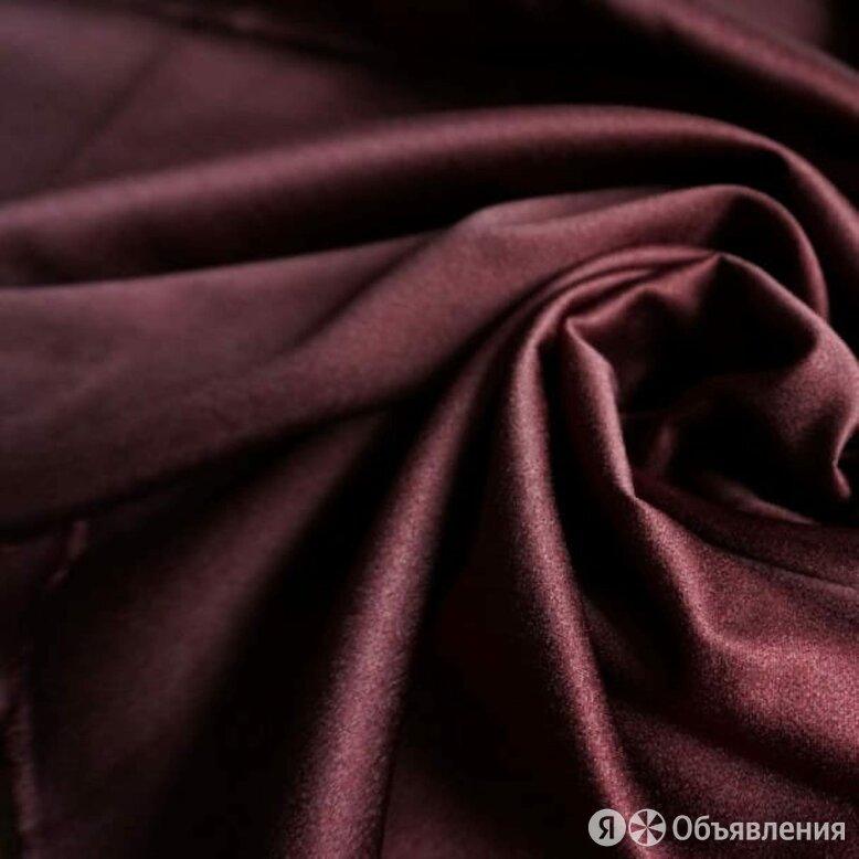 Сатин  - винно-красный, Сирия, 300 см. по цене 1520₽ - Ткани, фото 0
