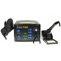 Электрические паяльники - Цифровая паяльная станция LUKEY 702, 0