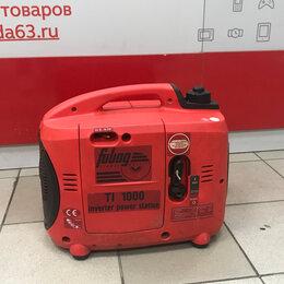 Электрогенераторы и станции - Бензиновая электростанция Fubag TI 1000, 0