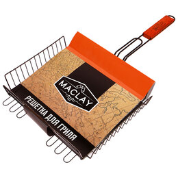 Решетки - Решётка-гриль для мяса 28 х 31 х 6 см, Premium, глубокая антипригарная, 0