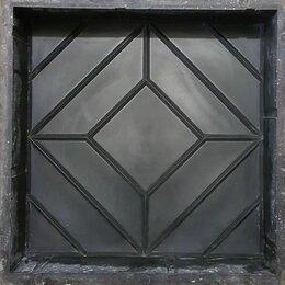 Тротуарная плитка, бордюр - Форма для тротуарной плитки квадрат ромб формы alpha польша, 0