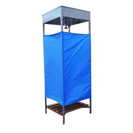 Души - Душ дачный, 80 × 80 × 250 см, тент, бак антикоррозийный, 128 л, без ЭВН, 0