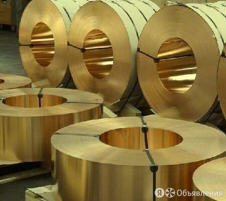 Лента бронзовая 0.7х250 БрБ2 по цене 897₽ - Металлопрокат, фото 0