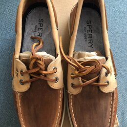Мокасины - Мужская обувь Sperry топсайдер  размер 7 US, 0