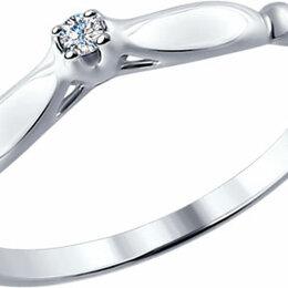 Кольца и перстни - Помолвочное кольцо SOKOLOV 87010003_s_18, 0
