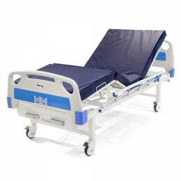 Устройства, приборы и аксессуары для здоровья - Кровать функциональная медицинская механическая, 0