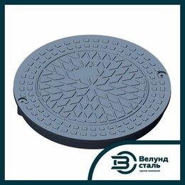 Насосы и комплектующие - Люк чугунный канализационный ГС тип A125 600х800х80 GGG-50, 0