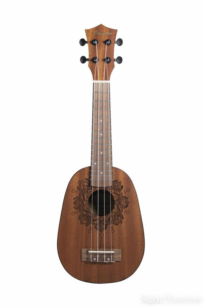 Укулеле сопрано Bamboo BU-21 Prana  Earth Line рисунок прана по цене 4890₽ - Акустические и классические гитары, фото 0