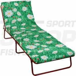 Раскладушки - Кровать раскладная СВ-ВДО Стефания мягкая разм 192х65х24 см до 120 кг, 0