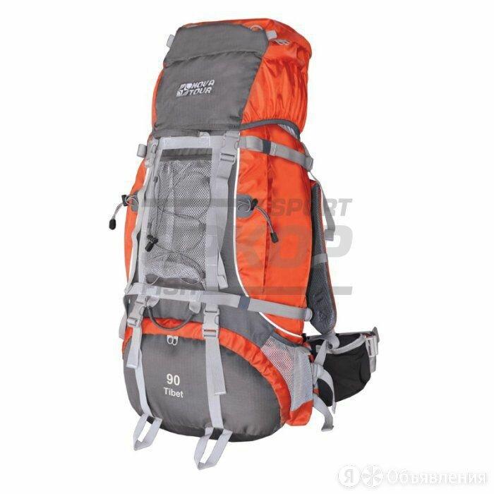 Рюкзак экспедиционный Nova Tour Тибет серо-терракотовый 90 л по цене 11586₽ - Рюкзаки, фото 0