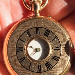 Карманные часы - золотые карманные часы Мозер, золото 56 проба,царская Россия, 0