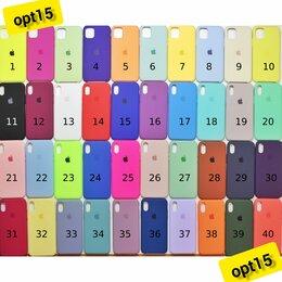 Чехлы - Silicon case палитра цветов оптом, 0