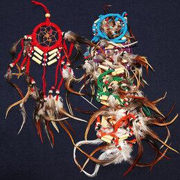 Средства от насекомых - Ловушка снов WIR4-8422 Раста Защита дома от злых духов в ночное время 6,5см-3..., 0