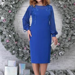 Платья - Платье 5815 NINELE василек Модель: 5815, 0