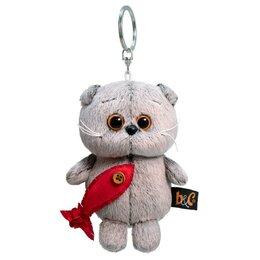 Брелоки и ключницы - Басик и Ко Мягкая игрушка-брелок «Басик с рыбкой», 12 см, 0