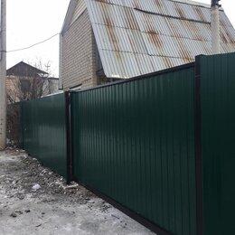 Заборы, ворота и элементы - Забор из профнастила, 0