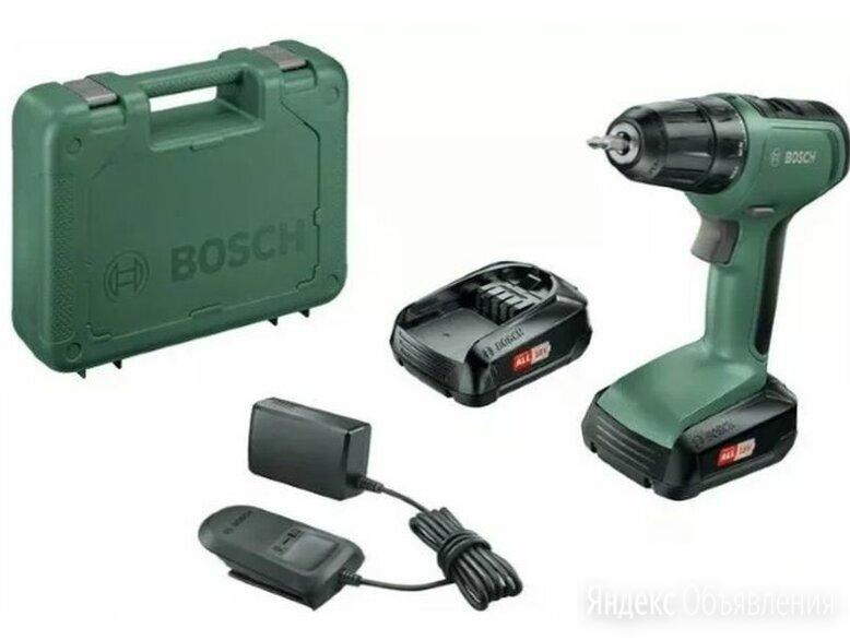 "Дрель-шуруповерт ""Bosch UniversalDrill 18"" (кейс в комплекте) по цене 8210₽ - Шуруповерты, фото 0"