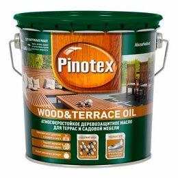 Масла и воск - Лаки, масла для наружных работ PINOTEX Масло PINOTEX Wood & Terrace Oil для т..., 0