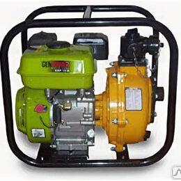 Мотопомпы - Мотопомпа бензиновая  Genpower GBP 15H, 0