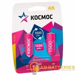 Универсальные внешние аккумуляторы - Аккумулятор КОСМОС  R6 (1500 mAh)  BL2   (2/24/288), 0