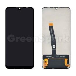 Дисплеи и тачскрины - Дисплей для Huawei P Smart (2019) + тачскрин (черный) (copy COG-B), 0