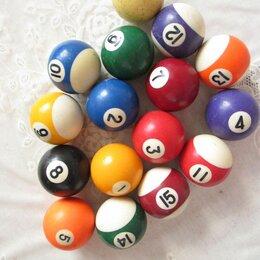 Шары - Бильярдные шары 57,4 мм.  б/у, 0