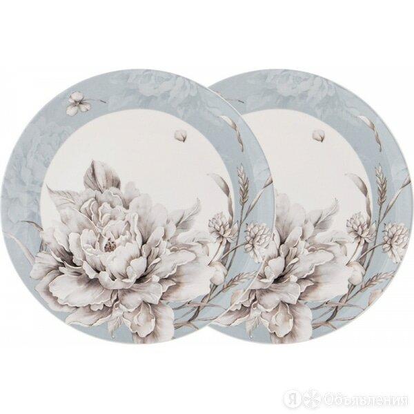 Набор тарелок закусочных Lefard White flower 23см 2шт голубой,фарфор по цене 1395₽ - Тарелки, фото 0