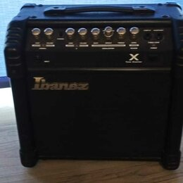 Гитарное усиление - В резерве - Гитарный Комбоусилитель с ревером Ibanez TBX15R. Доставка, 0