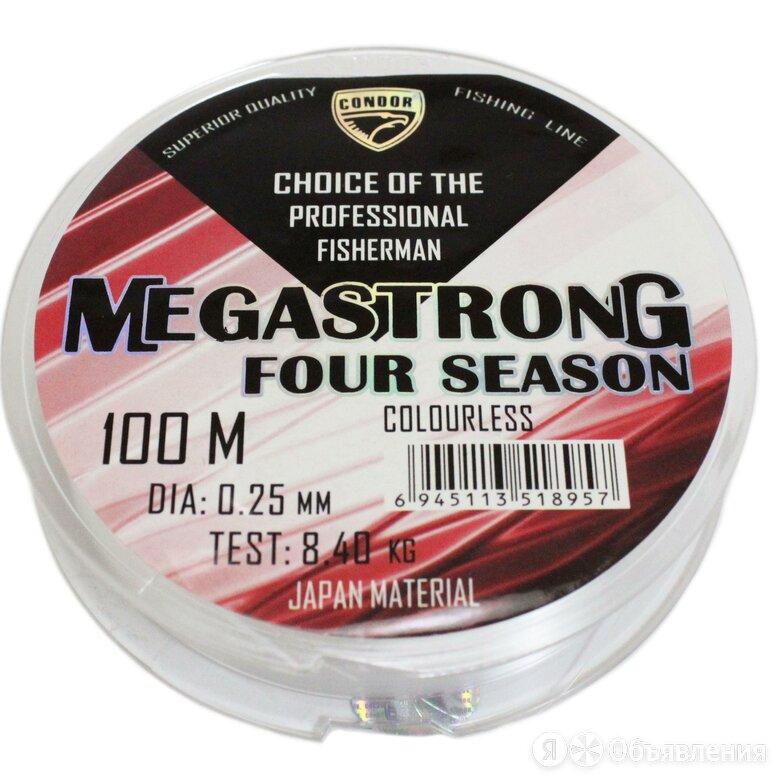 Леска Megastrong Four Season 0.18 мм, 100м по цене 90₽ - Защита и экипировка, фото 0