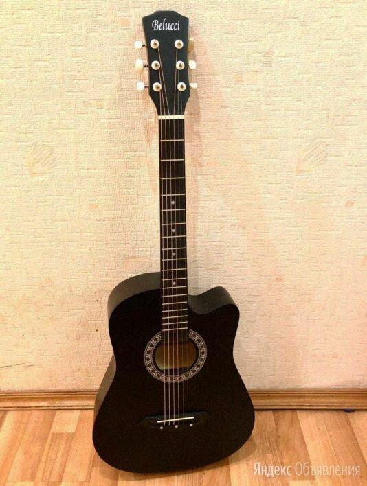 Акустическая гитара Belucci бесплатная доставка по цене 4500₽ - Акустические и классические гитары, фото 0