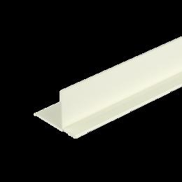 Сайдинг - Фасадный внутренний угол Дёке Слоновая кость 3,05м. (30 шт. в упак.), 0