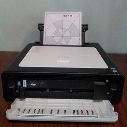 Принтеры и МФУ - Лазерный б/у принтер Ricoh SP111, 0