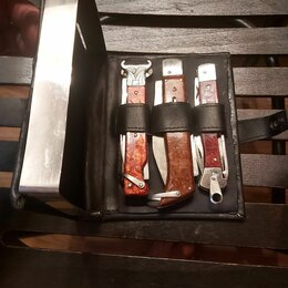Ножи и мультитулы - НОЖ ВЫКИДНОЙ И СКЛАДНЫЕ РЕДКИЙ КОМПЛЕКТ ИЗ КОЛЕКЦИИ СОСТОЯНИЕ ОТЛИЧНОЕ, 0