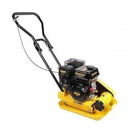Вибротрамбовочное оборудование - Виброплита бензиновая champion PC6337F вес 53 кг, 0