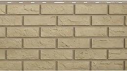 Фасадные панели - Панель Кирпич, Желтый, 1130х470мм, 0