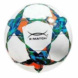 Мячи - Мяч футбольный X-Match, 2 слоя PVC, 0